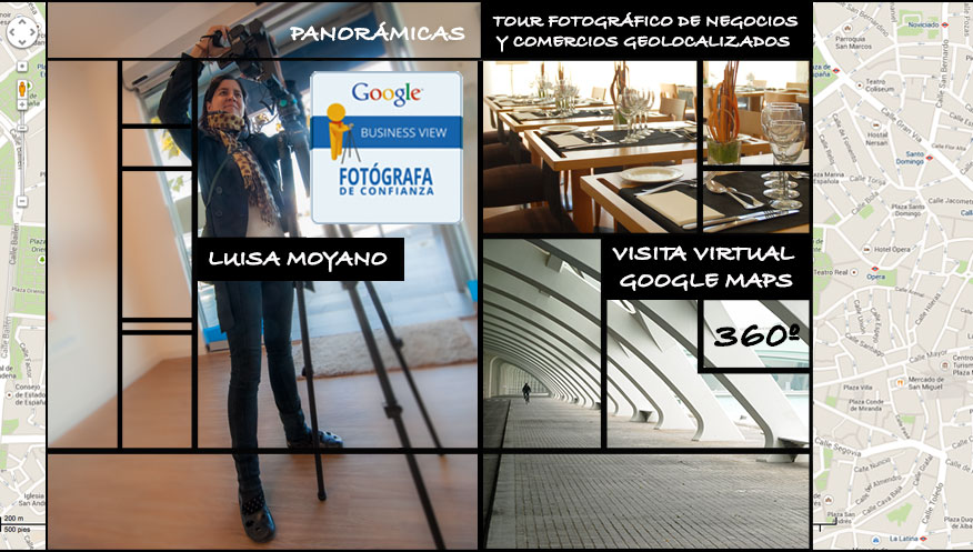 Fotógrafos Google Maps Business View