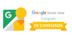 Logotipo fotógrafos street view trusted